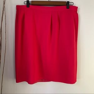Kasper II Skirt with Liner and Pockets Women's 18